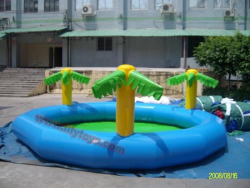 POOL AND SLIDE