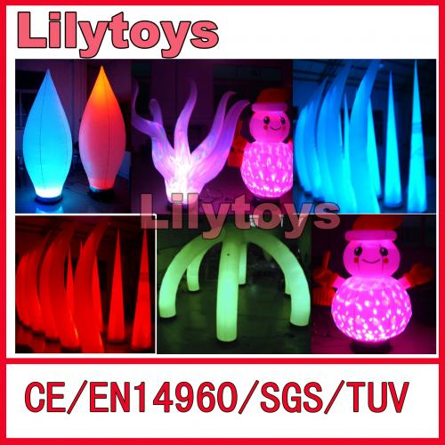 led balloon flower