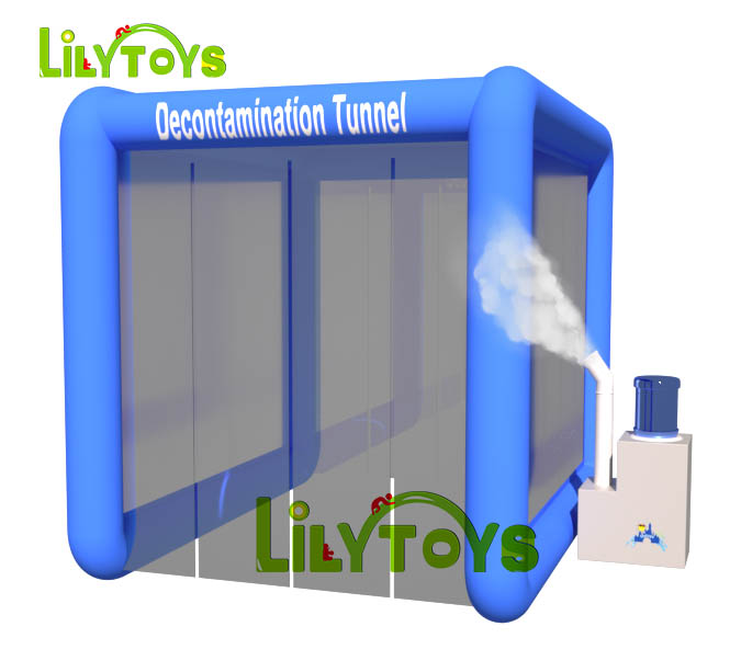 Inflatable Disinfection Tunnel, Disinfection Tent, Disinfection House, Ready to Ship
